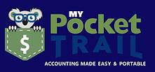 my pocket trail, accounting logo