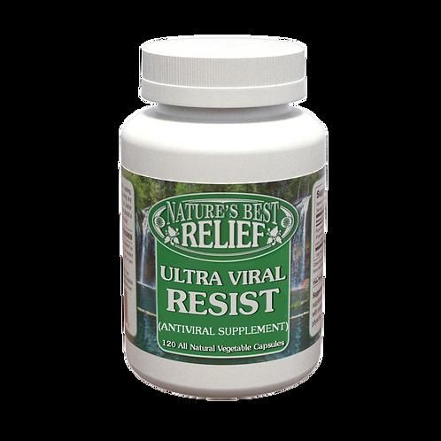 Ultra Viral Resist Antiviral Supplement Capsules
