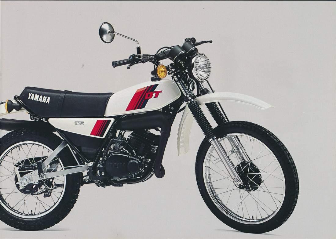 Yamaha dt125 81  1
