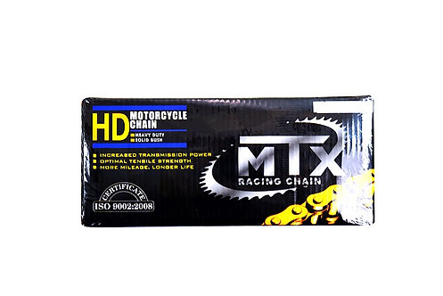 RICOMOTO CHAINE HD MTX 428-118 GOLD YAMAHA PIECES DETACHEES NEUVES