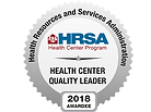 HRSA Health Center Quality Leader, 2018.