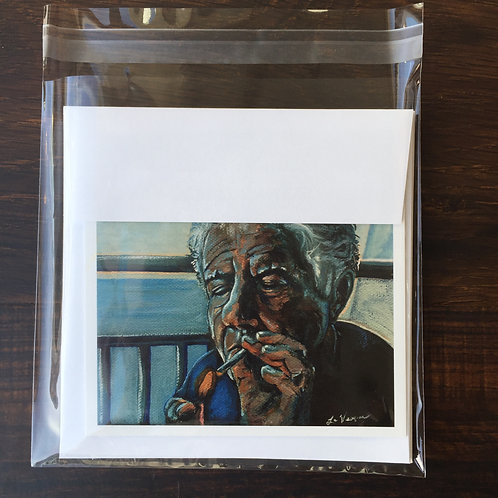"""""""Anthony Bourdain"""" All Occasion Greeting Cards"""