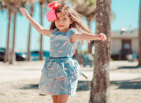 Dress guide for little girls.