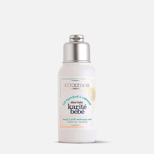 Karité Bebé Leche hidratante de rostro y cuerpo - L'Occitane®