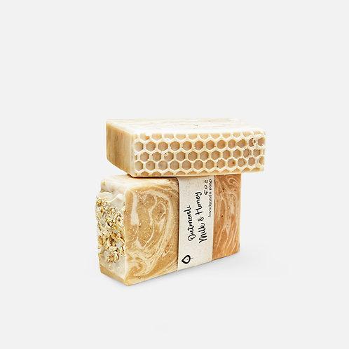 Jabón Oatmeal, Milk & Honey – Sabun Market