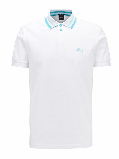 Stripe Collar White
