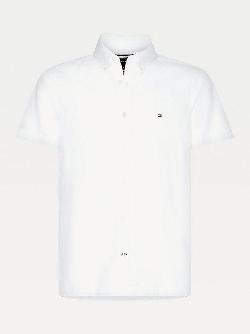 Tommy Hilfiger Turn Back Cuff Shirt in White