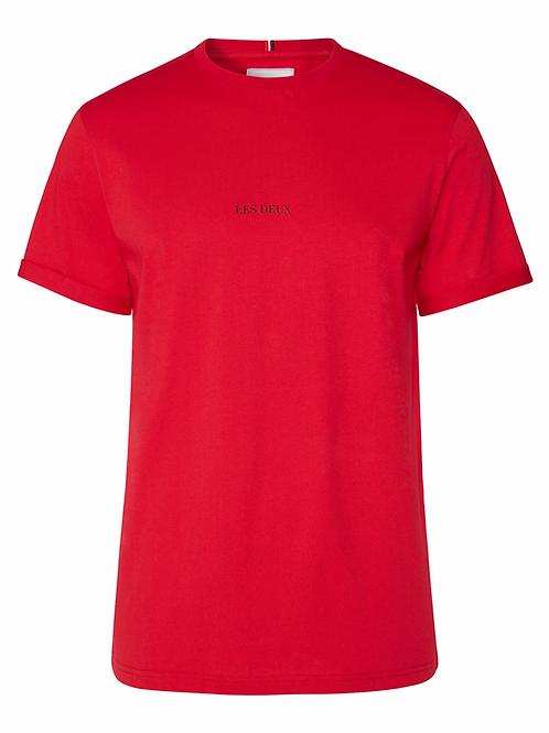 Les Deux Lens T-Shirt in Red