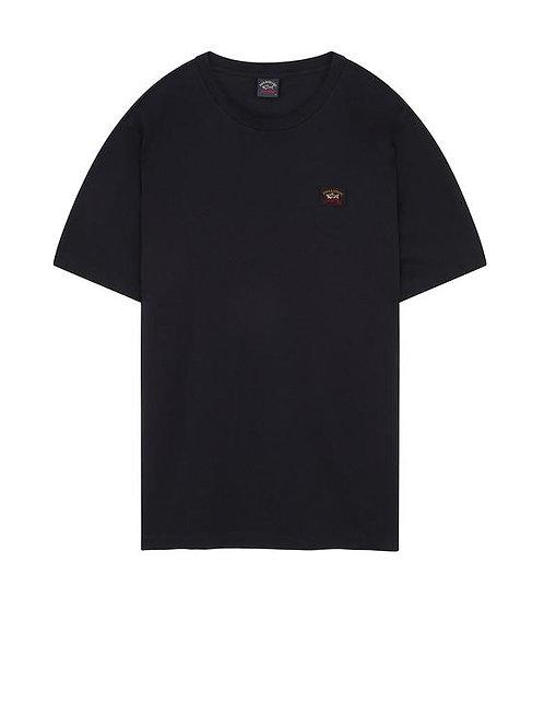 Badge T-Shirt in Black