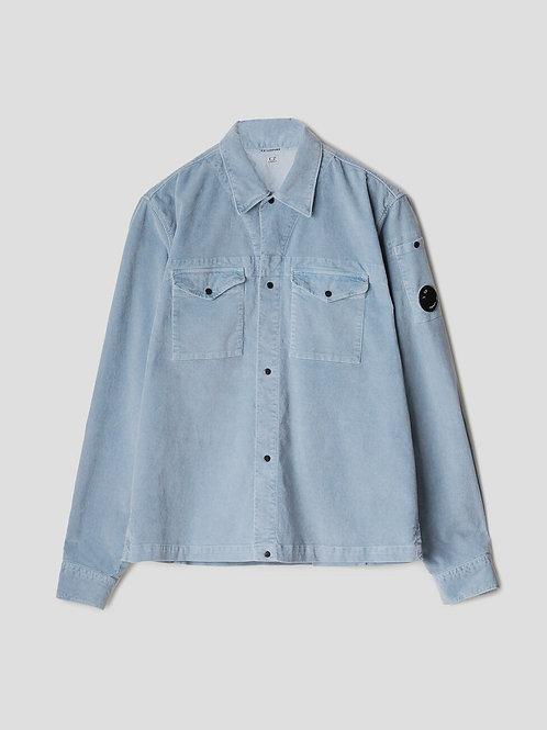 Lens Cord Shirt Sky