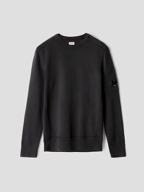 Lens Knit Sweatshirt Black