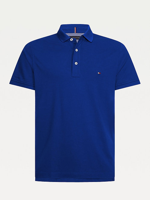 Slim Fit Polo Blue Ink