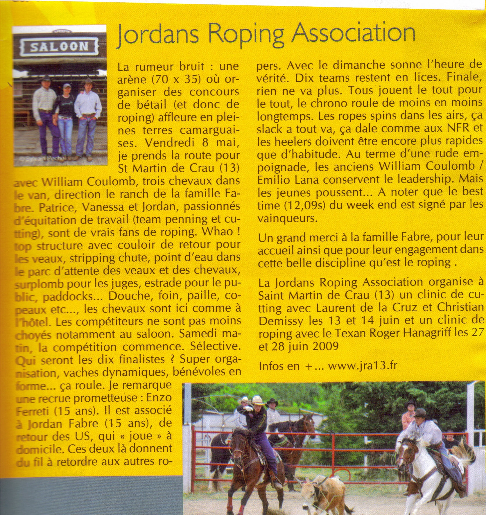 article NEWESTERN JUIN 2009