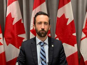 Ex-Conservative Ontario MP Dereck Slone has come to Alberta
