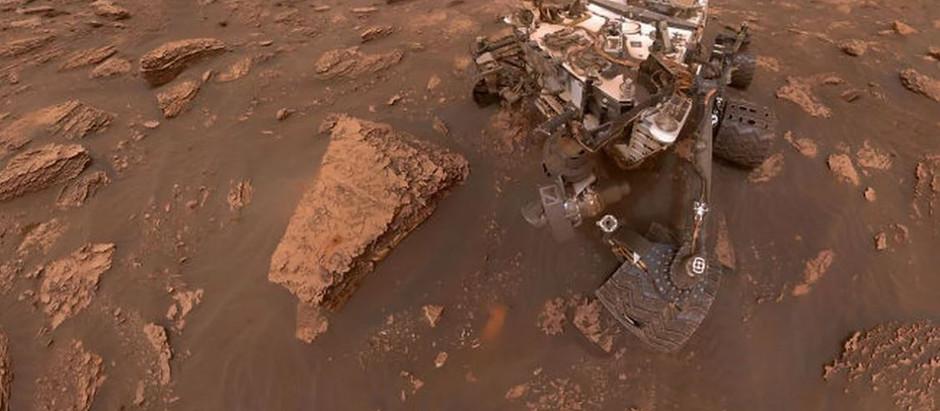 Curiosity explore la planète rouge pour découvrir cette terre inconnue...