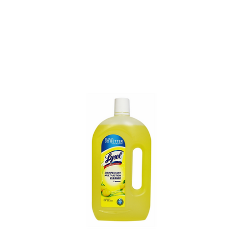 Lysol Multi Action Cleaner Lemon 900 Milliliter
