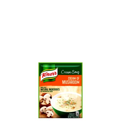 Knorr Cream of Mushroom Soup 70 Grams