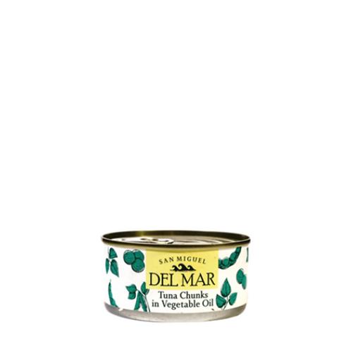 Del Mar Tuna Chunks in Vegetable Oil 185 Grams