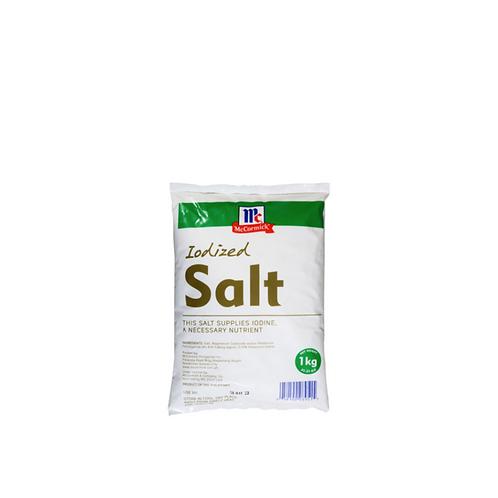 McCormick Iodized Salt 1 Kilo