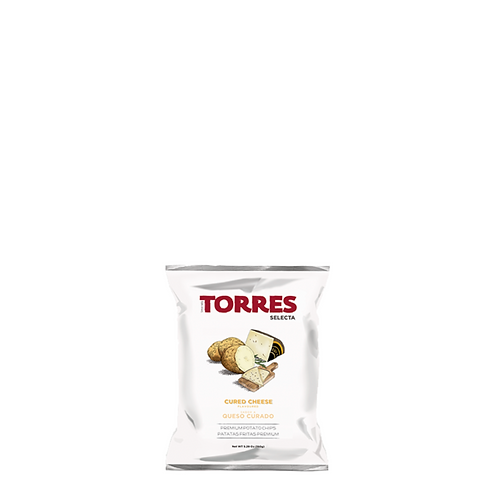 Torres Cured Cheese Potato Chips 150 Grams