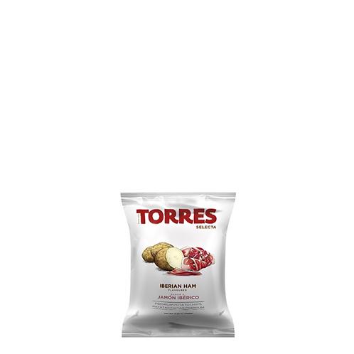 Torres Selecta Potato Chips Iberian Ham 150 Grams