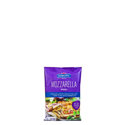 Emborg Shredded Cheese Mozzarella 200 Grams