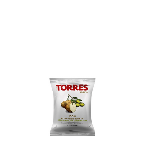 Torres Selecta Potato Chips 100% Extra Virgin Olive Oil 150 Grams