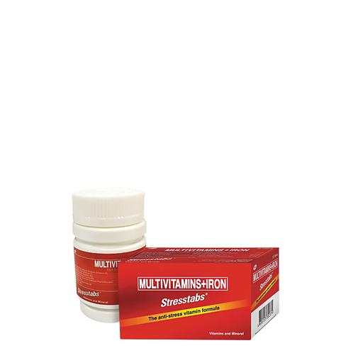 Stresstabs Multivitamins + Iron 30 Tablets