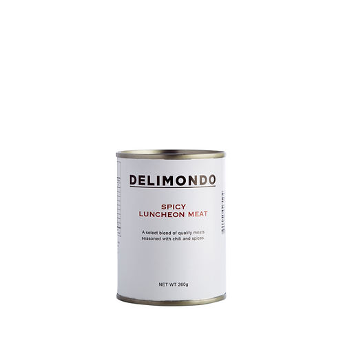 Delimondo Spicy Luncheon Meat 260 Grams
