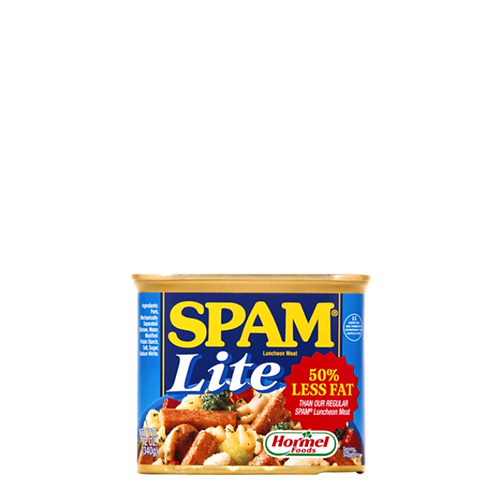 SPAM Luncheon Meat Lite 12 Ounce
