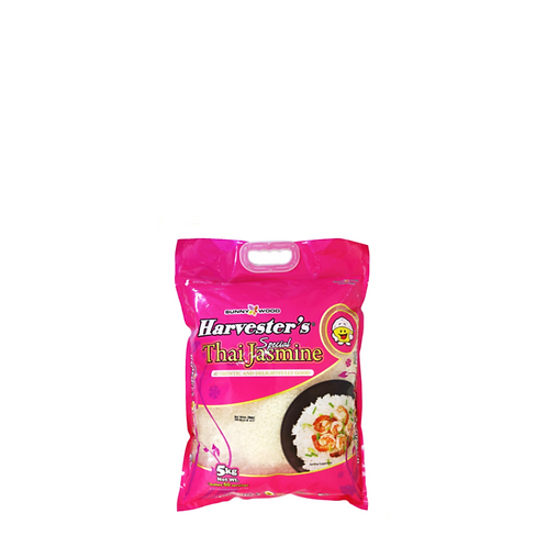 Harvesters Thai Jasmine Rice 5 Kilos