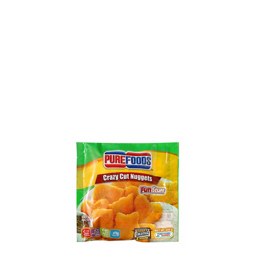 Purefoods Fun Stuff Crazy Cut Nuggets Bbq 200 Grams