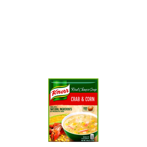 Knorr Crab and Corn Soup 60 Grams