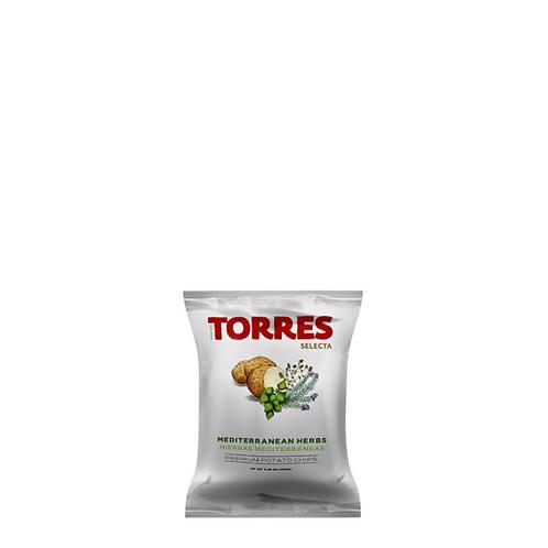 Torres Selecta Potato Chips Mediterranean Herbs 150 Grams