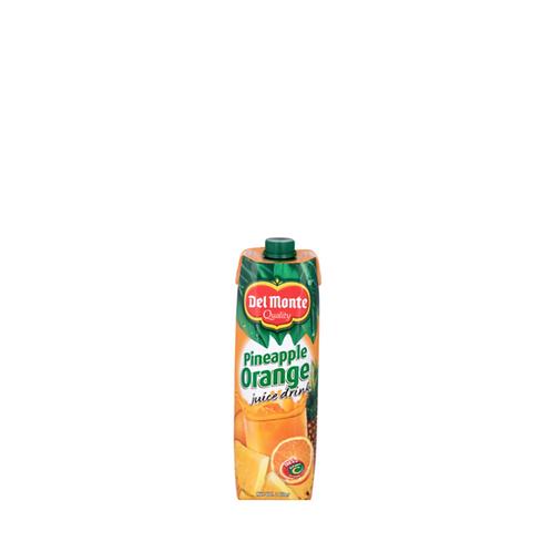 Del Monte Pineorange Juice Tetra 1 Liter