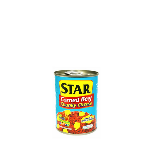 Star Corned Beef Chunky Cheese 260 Grams