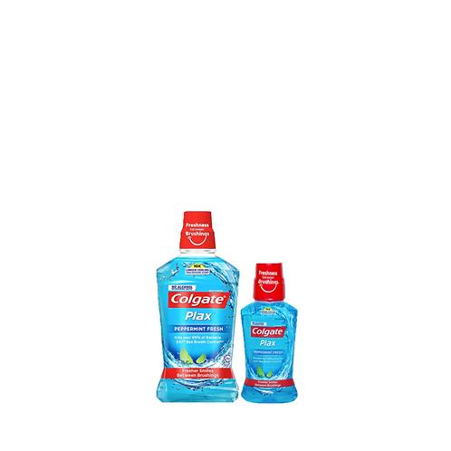 Colgate Plax Peppermint 500 Milliliter + 250 Milliliter