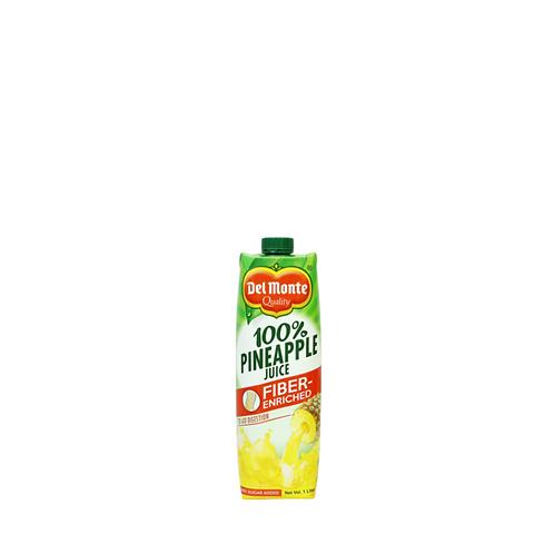 Del Monte Pineapple Juice Tetra 1 Liter