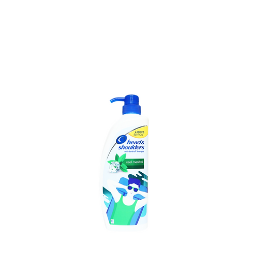 Head and Shoulders Shampoo Cool Menthol 850 Milliliter