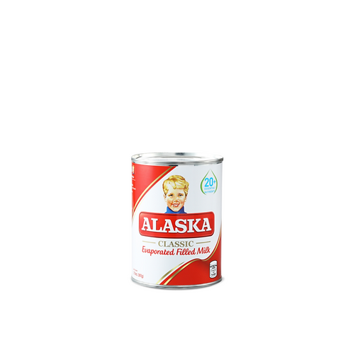 Alaska Evaporated Filled Milk 370 Milliliter