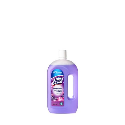 Lysol Multi Action Cleaner Lavender 900 Milliliter