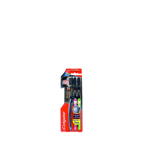 Colgate Toothbrush Slimsoft Charcoal Buy 2 Take 1