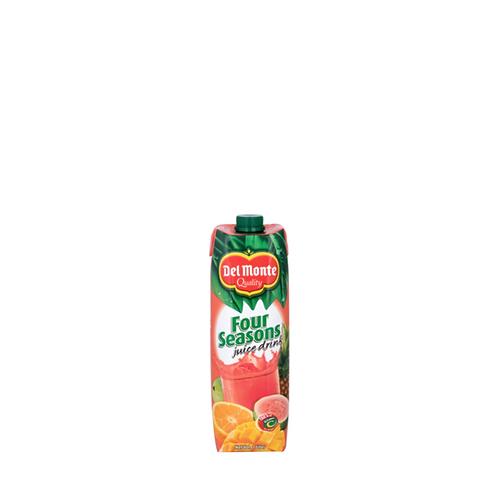 Del Monte Four Seasons Juice Tetra 1 Liter