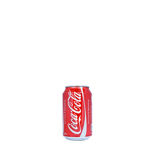 Coke Can 330 Milliliter