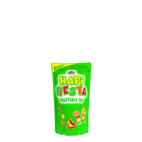 Hapi Fiesta Vegetable Oil Pouch 1 Liter