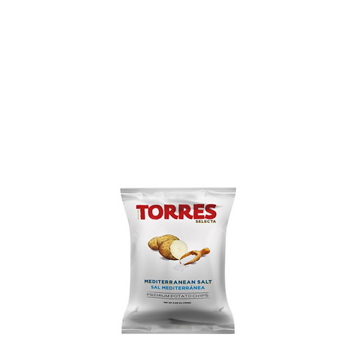 Torres Selecta Potato Chips Mediterranean Salt 150 Grams