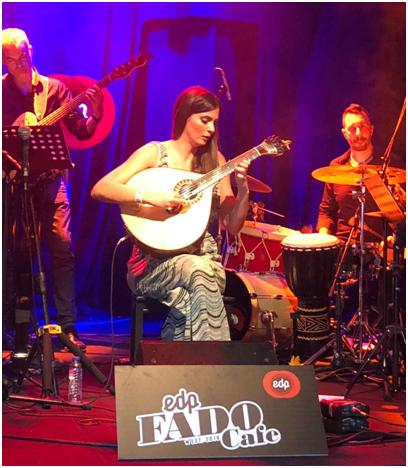 Marta Pereira da Costa Palco EDP Fado Cafe Nos Alive