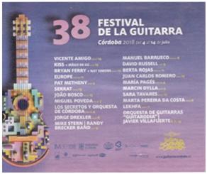 Marta Pereira da Costa Festival de la Guitarra de Cordoba 2018