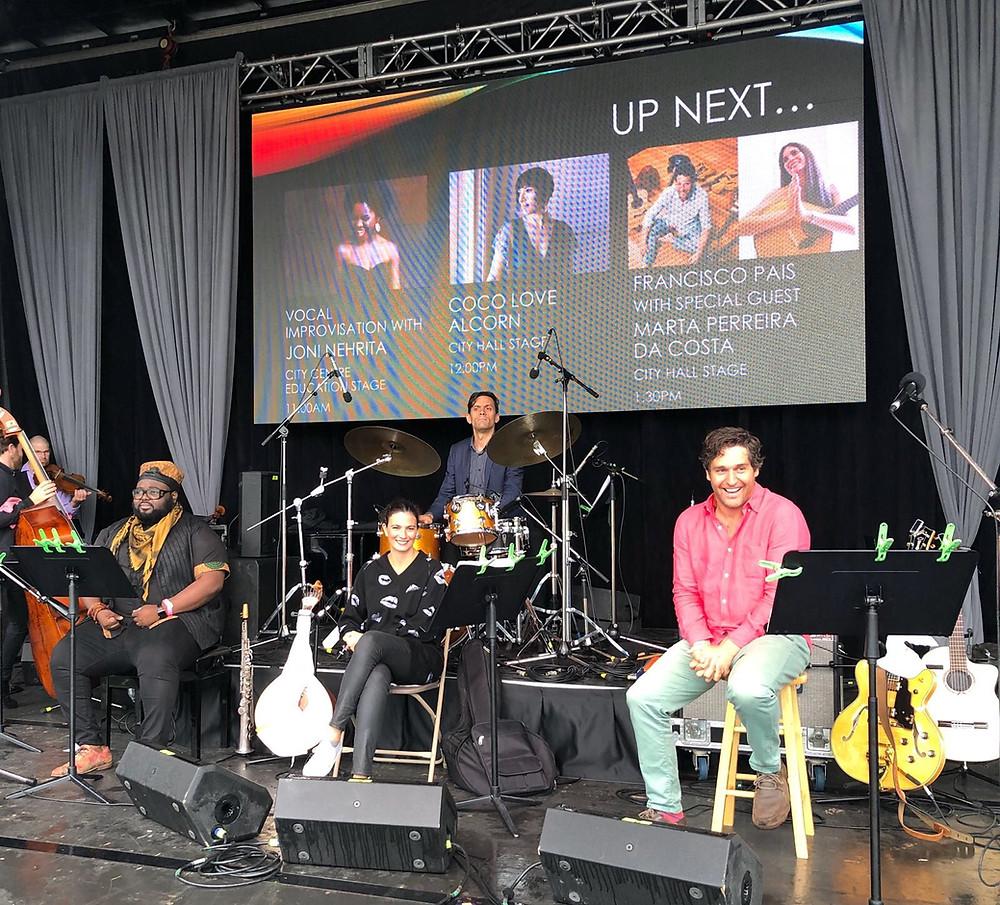 Marta Pereira da Costa Waterloo Jazz Festiva