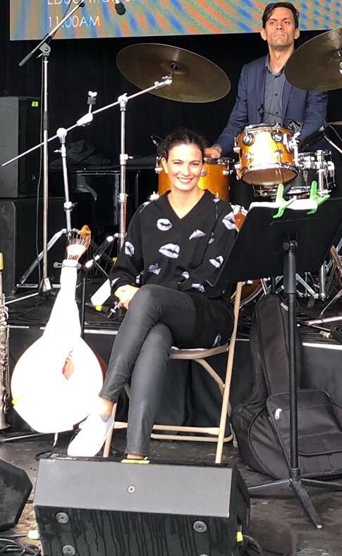 Marta Pereira da Costa Waterloo Jazz Festival 2018